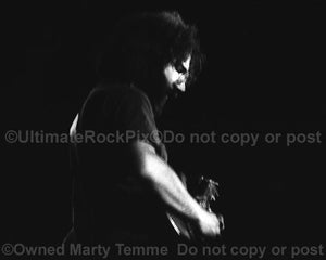 Photos of Guitarist Jerry Garcia of The Grateful Dead in the 1970's by Marty Temme