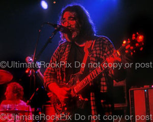 Photos of Guitarist Jerry Garcia of The Grateful Dead in Concert by Marty Temme