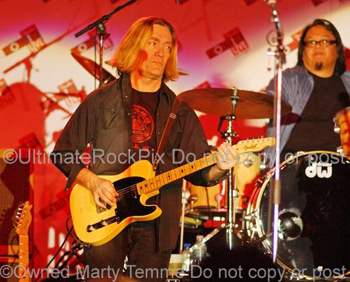 Photos of Guitarist G.E. Smith in Concert in 2008 by Marty Temme