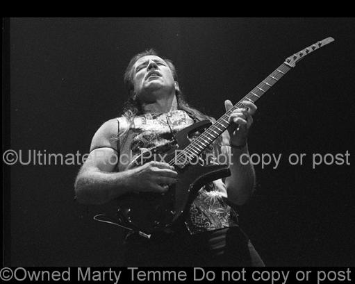 Photos of Mark Farner of Grand Funk Railroad in Concert Performing in 1999 by Marty Temme