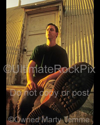Photos of Singer and Author Greg Graffin of Los Angeles Punk Rock band Bad Religion During a Photo Shoot in 1993 by Marty Temme