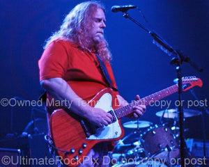 Photos of Guitarist Warren Haynes of Gov't Mule in Concert in 2008 by Marty Temme