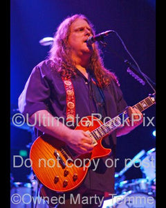 Photos of Warren Haynes of Gov't Mule in Concert by Marty Temme
