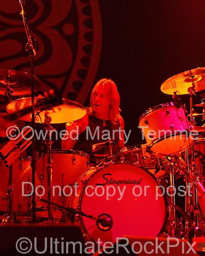 Photos of Drummer Matt Abts of Gov't Mule in Concert by Marty Temme