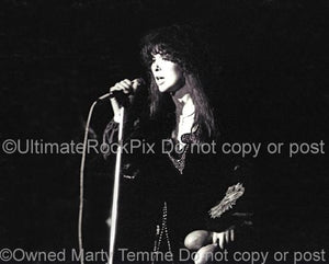 Photos of Singer Ann Wilson of Heart Performing in Concert in 1978 by Marty Temme