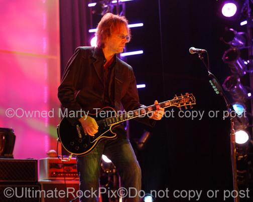 Photos of Guitar Player Craig Bartock of Heart by Photographer Marty Temme