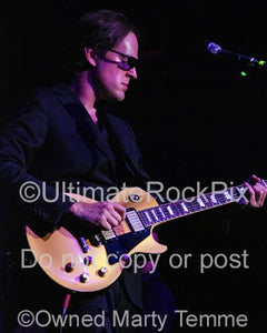 Photos of Joe Bonamassa Playing a Gibson Goldtop in Concert by Marty Temme