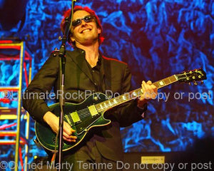 Photos of Joe Bonamassa Playing a Gibson Les Paul Standard by Marty Temme