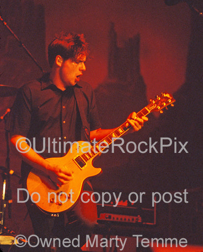 Photo of guitarist Jim Adkins of Jimmy Eat World in concert by Marty Temme