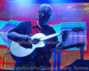 Photos of Guitar Player Rich Williams of Kansas in Concert in 2010 by Marty Temme