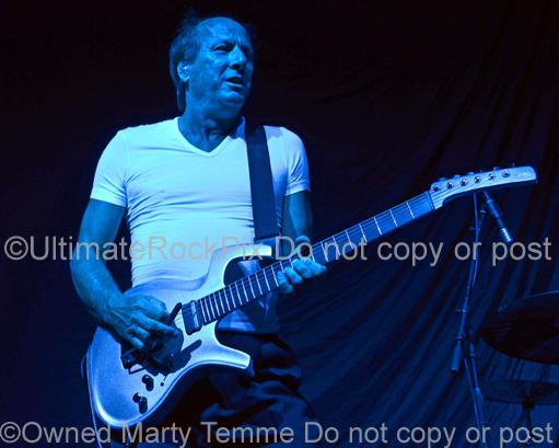 Photos of Musician Adrian Belew of King Crimson in Concert in 2012 by Marty Temme