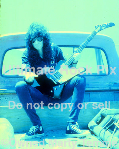 Art Print of Bruce Kulick of Kiss during a photo shoot in 1993 by Marty Temme