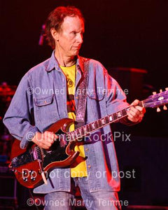 Photos of Robby Krieger of The Doors in 2008 by Marty Temme