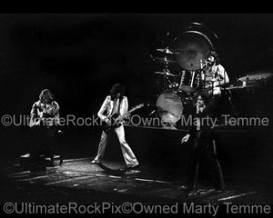 Photos of Led Zeppelin in Concert in 1976 by Marty Temme