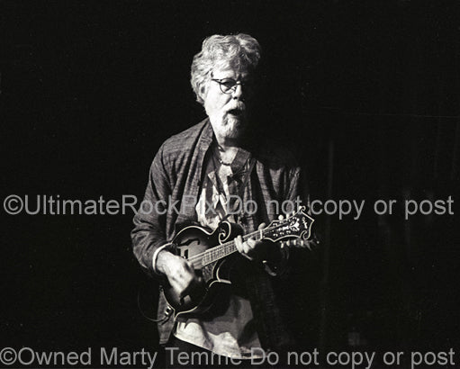 Photo of Fred Tackett of Little Feat in concert in 2002 by Marty Temme