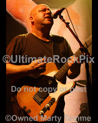 Photo of Black Francis of The Pixies in concert by Marty Temme