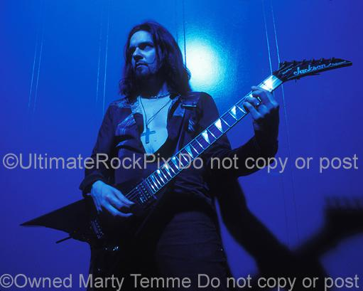 Photos of Tommy Victor of Prong and Danzig During a Photo Shoot in 1994 by Marty Temme