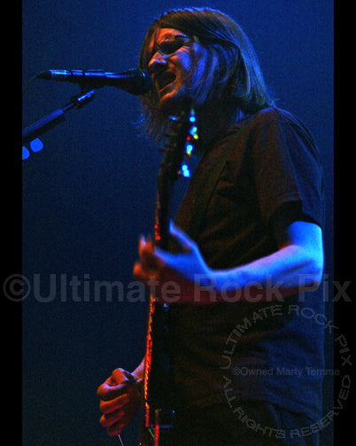 Photo of Steven Wilson of Porcupine Tree in concert by Marty Temme
