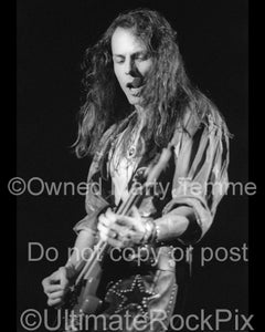 Photo of Chris DeGarmo of Queensryche in concert in 1991