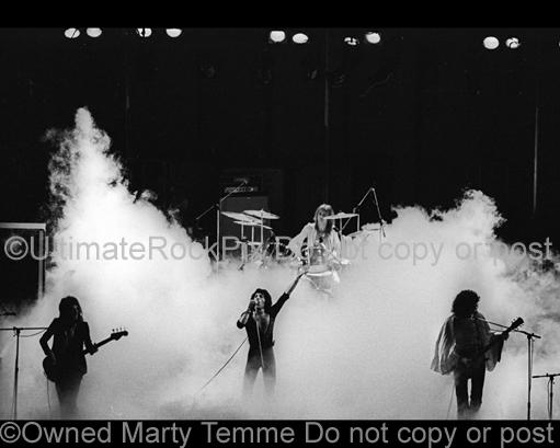 Photos of Freddie Mercury, Brian May, Roger Taylor