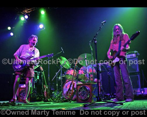 Photos of Bob Weir and Robin Sylvester of RatDog in Concert by Marty Temme