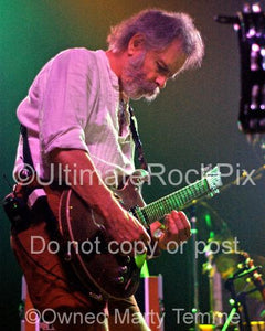 Photos of Guitar Player Bob Weir of RatDog and The Grateful Dead Performing in Concert by Marty Temme