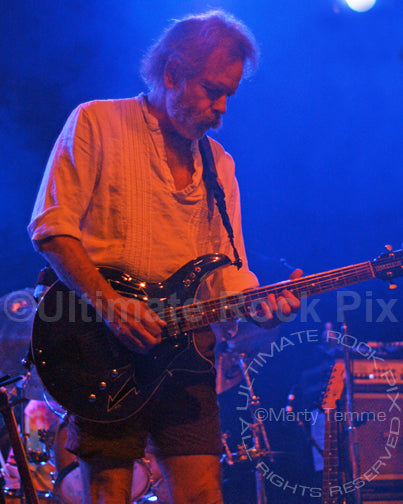 Photo of guitarist Bob Weir of RatDog in concert by Marty Temme