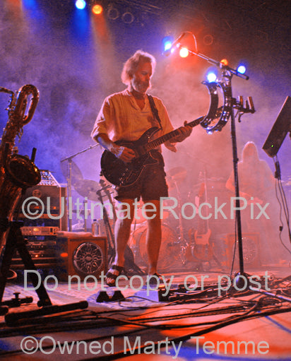 Photo of Bob Weir of RatDog and The Grateful Dead in concert in 2007 by Marty Temme