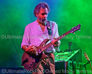 Photos of Guitar Player Bob Weir of RatDog and The Grateful Dead in Concert by Marty Temme