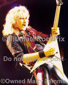 Photos of Guitar Player Robbin Crosby of Ratt in 1988 by Marty Temme