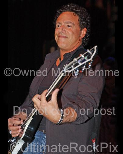 Photos of Neal Schon of Journey and Santana in Concert in 2006 by Marty Temme