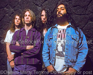 Photos of Soundgarden During a Location Photo Shoot in 1989 in Los Angeles, California by Marty Temme