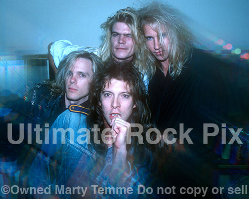 Photo of Shark Island during a photo shoot in 1988 by Marty Temme