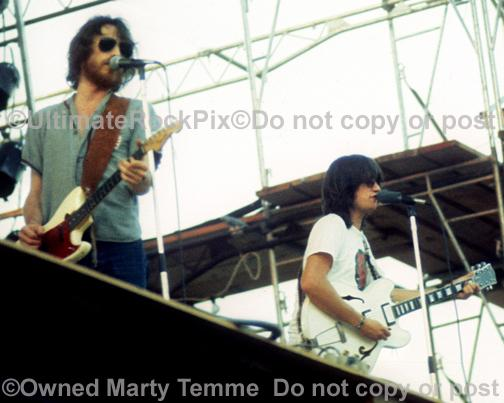 Photos of Richie Furay and J.D. Souther of The Souther Hillman Furay Band in Concert in 1974 by Marty Temme