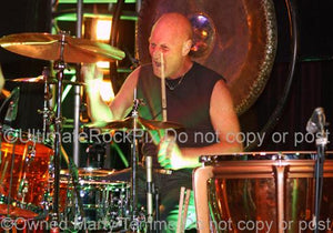 Photos of Drummer Chris Slade of AC/DC and The Firm in Concert by Marty Temme