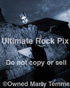 Art Print of Wayne Static of Static-X during a photo shoot in 1999 by Marty Temme