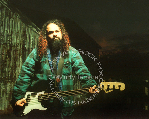 Photo of Tony Campos of Static-X during a photo shoot in 1999 by Marty Temme