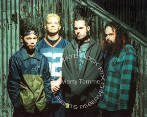 Art Print of Wayne Static and Static-X during a photo shoot in 1999 by Marty Temme