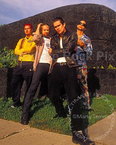 Photo of the band Sugar Ray during a photo shoot in 1995 by Marty Temme