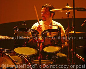 Photos of Drummer John Tempesta Performing with The Cult in Concert by Marty Temme