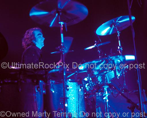 Photos of Drummer Michael Lee of Thin Lizzy and Page and Plant by Marty Temme