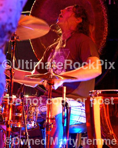 Photos of Drummer Danny Carey of Tool in Concert by Marty Temme