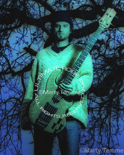 Art Print of bassist Justin Chancellor of Tool during a photo shoot in 2001 by Marty Temme