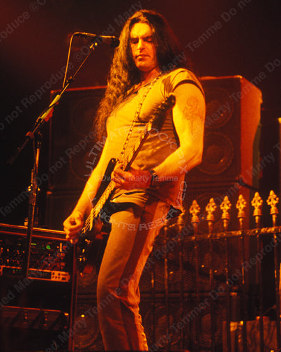 Photo of Peter Steele of Type O Negative in concert by Marty Temme