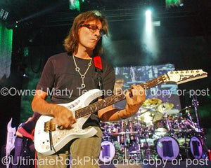 Photos of Guitar Player Steve Vai in Concert in 2009 by Marty Temme