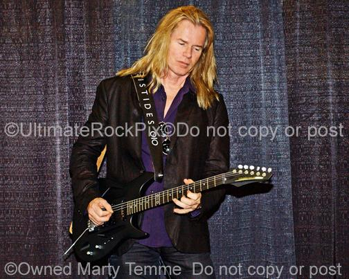 Photo of Guitar Player Adrian Vandenberg of Whitesnake during a photo shoot by Marty Temme