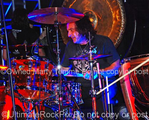 Photos of Drummer Vinny Appice of Black Sabbath and Dio by Marty Temme