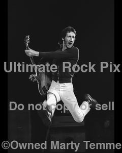 "11"" x 14"" Limited Edition Print of Pete Townshend of The Who in 1974"