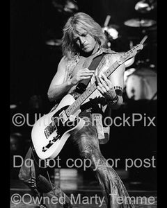 Photos of Guitar Player Adrian Vandenberg of Whitesnake During a Photo Shoot by Marty Temme