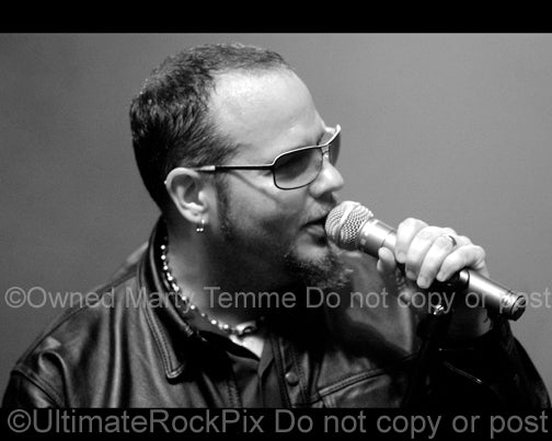 Photo of Tim Ripper Owens of Yngwie Malmsteen in 2008 by Marty Temme